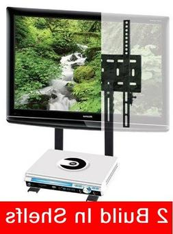 Mount World 1024D LED TV Wall Mount with build in 2 tier she