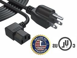 12Ft AC Power Cord Cable for Dell Toshiba Panasonic LG Sony