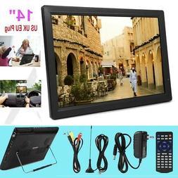 """14"""" Digital LED TFT Television ATSC Portable TV 1080P HD HDM"""