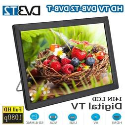 """14"""" Portable 16:9 Digital Television TV 1080P Video Player T"""