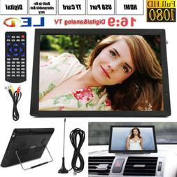 """14"""" TFT-LED Digital Television ATSC Portable TV 1080P HD HDM"""