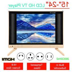 "7"" HD Smart LCD TV Mini LED Music Television Player Audio Su"