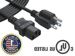 15Ft 3Prong AC Power Cord for Samsung Toshiba Vizio Sharp Ph