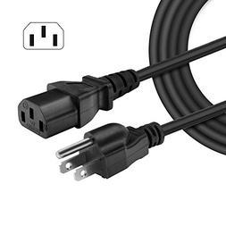 IBERLS  18 AWG AC Cable 3 Prong Plug Universal LCD Plasma Tv