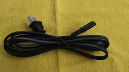 2 Prong TV AC Power Cord 6 Ft Cable for Toshiba Hisense