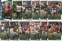 2016 & 2017 Panini Donruss Football Atlanta Falcons 2 Team S