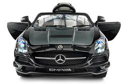 2017 Carbon Black MERCEDES SLS AMG 12V Battery Powered Ride