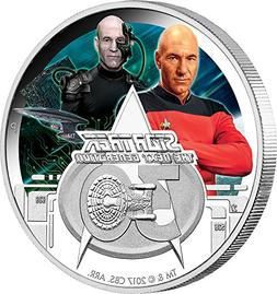 2017 TV Star Trek PowerCoin Next Generation 30th Anniversary