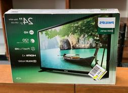 "Philips 24"" 2K 720P 3000 Series HDMI x2 LED TV Television 24"