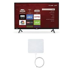 TCL 28S305 28-Inch 720p Roku Smart LED TV  with Winegard Fla