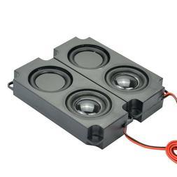 2Pcs Audio Portable Speakers 10045 LED TV Speaker 8 Ohm 5W D