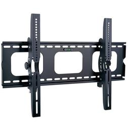 2xhome Universal Flat No Arm Tilt Up Down Adjustable Wall Br