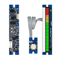 30 Segments 66mm LED VU Meter Module With Peak Hold Audio Le