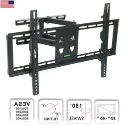"""32""""-65"""" TV Wall Mount Stable Dual Arm Full Motion Tilt Swi"""