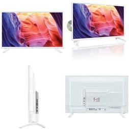 32 In. Led 1080P 60Hz Full Hdtv Dvd Player Combo White Hdtv