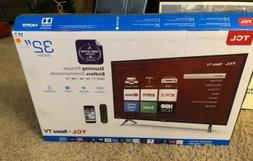"TCL 32"" Roku Smart LED HDTV with 720p Resolution & 60Hz Refr"