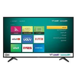 Hisense 32in Smart Tv Led HD New 720p Roku Flat Games Entert