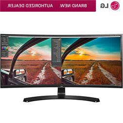 "LG 34""UltraWide Curved IPS Monitor 3440 x 1440 21:9 34UC88"