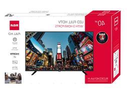 "40"" Class FHD  LED TV Home Audio light remote video HDTV 3 H"