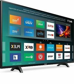 "Philips 43"" Class 4K UHD LED TV with HDR 10 and Smart TV"