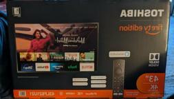 "Toshiba - 43"" Class - 4K UHD TV - Smart - LED - with HDR - F"