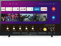 "Philips 43"" Class 4K Ultra HD  Android Smart LED TV with Goo"