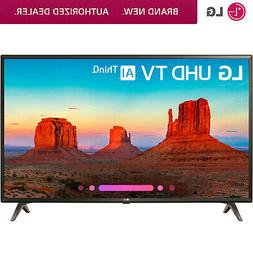 "LG 43UK6300 43"" UK6300 Class 4K HDR Smart LED AI UHD TV w/Th"