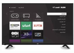 RCA 50, Smart LED TV , Class 4K Ultra HD  HDR Roku , Video