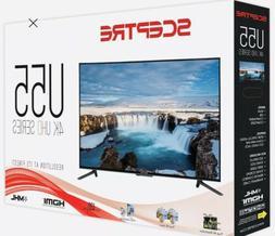 "Sceptre 55"" 4K Ultra HD  LED TV, 4 HDMI Output, Wall-mountab"
