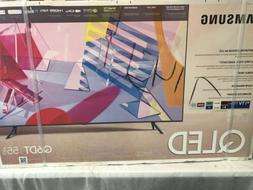 SAMSUNG 55 INCH CLASS Q6DT SERIES 4K SMART UHD QLED LCD TV S