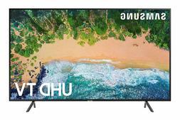 Samsung 55 Inch Flat 4K UHD HDR Smart TV UN55NU7100FXZA -Bra