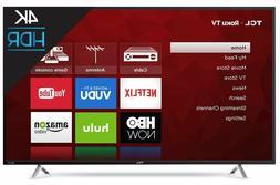"""TCL 55"""" Smart 4K TV w/ Clear Motion 120, 3HDMI/1USB Ports &"""