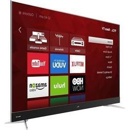 TCL 55C807 55-Inch 4K Ultra HD Roku Smart LED TV
