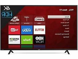 TCL 55S403 LED 4K 120 Hz Wi-Fi Roku Smart TV, 55""