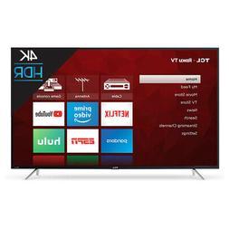 """TCL 55S403 LED 4K 120 Hz Wi-Fi Roku Smart TV, 55"""""""