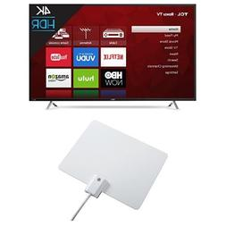 TCL 55S405 55-Inch 4K Ultra HD Roku Smart LED TV  with Wineg