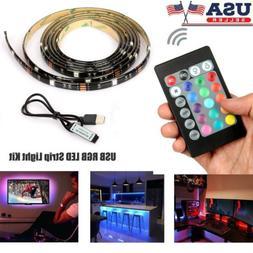 5v usb led strip lights tv back