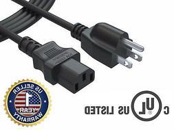 6 Ft 3Prong AC Power Cord for Samsung Toshiba Vizio Sharp Ph