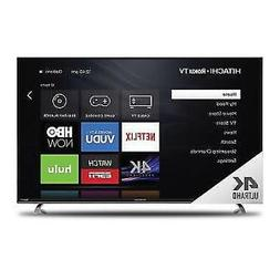 """Hitachi 65"""" """"Class 4K  Roku Smart LED TV"""