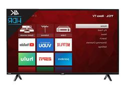 TCL 65S4 65-inch 4K Ultra HD HDR Roku Smart LED TV