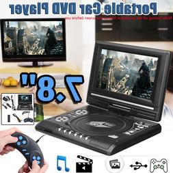 7.8 Inch <font><b>Portable</b></font> HD TV Home Car <font><