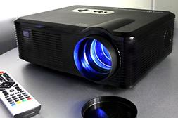 720P LED LCD Video Projector, Fugetek FG-857, Home Theater C