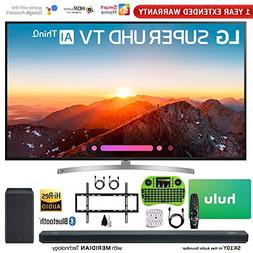 "LG 75SK8070PUA 75"" Class 4K HDR Smart LED AI Super UHD TV w/"