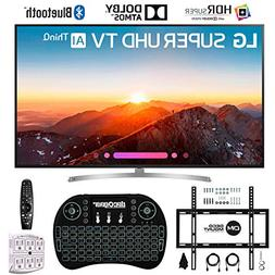 "LG 75SK8070PUA 75"" 4K HDR Smart LED AI Super UHD TV w/ThinQ"