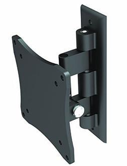 Black Full-Motion Tilt/Swivel Wall Mount Bracket for Polaroi
