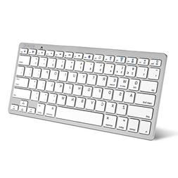 Caseflex Ultra Slim Wireless Bluetooth Keyboard For All iOS,