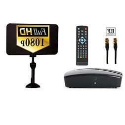 Digital TV Converter Box - Digital Antenna - RF and RCA Cabl