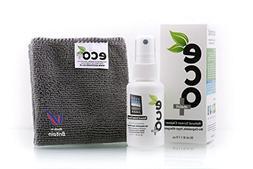 EcoMoist Natural Organic Screen Cleaner with Microfiber Clea