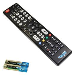 HQRP Remote Control for Hitachi LE55X04A LED32V407 LU43V809
