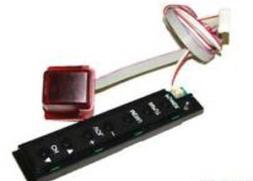 Hitachi LE55A6R9A LED HDTV Button Board & IR Sensor- JUC7.82